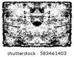 grunge black and white urban... | Shutterstock .eps vector #583461403