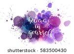 watercolor imitation background ... | Shutterstock .eps vector #583500430