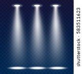 abstract spotlight effect on... | Shutterstock .eps vector #583511623