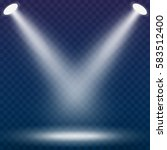 abstract spotlight effect on... | Shutterstock .eps vector #583512400