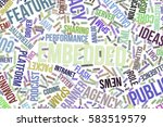 embedded  it  information... | Shutterstock . vector #583519579