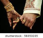 wedding hands   Shutterstock . vector #58353235