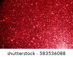 red glitter texture background | Shutterstock . vector #583536088