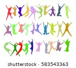 together we celebrate victory... | Shutterstock .eps vector #583543363