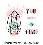 hand drawn vector abstract...   Shutterstock .eps vector #583560430