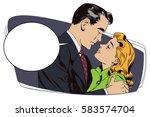 stock illustration. people in...   Shutterstock .eps vector #583574704