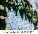 beautiful stylish holiday... | Shutterstock . vector #583591120