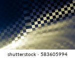 racing abstract background. it... | Shutterstock . vector #583605994
