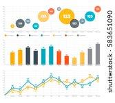 infographics elements. line...   Shutterstock .eps vector #583651090