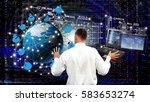 engineer.developer.designing... | Shutterstock . vector #583653274