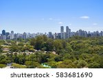 view of houses and buildings... | Shutterstock . vector #583681690