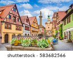 beautiful postcard view of the... | Shutterstock . vector #583682566
