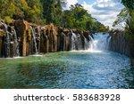 pha suam waterfall  tat pha... | Shutterstock . vector #583683928