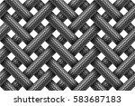 vector seamless decorative... | Shutterstock .eps vector #583687183