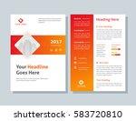 annual report  broshure  flyer  ... | Shutterstock .eps vector #583720810