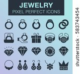 set of pixel perfect jewelry...
