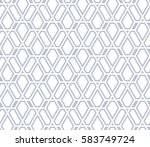 abstract geometric pattern with ... | Shutterstock .eps vector #583749724