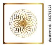 circular pattern. geometric...   Shutterstock .eps vector #583755928