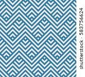 geometric pattern. vector... | Shutterstock .eps vector #583756624