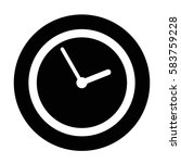 time icon | Shutterstock .eps vector #583759228