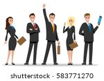 business team people | Shutterstock .eps vector #583771270