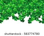 saint patricks day background... | Shutterstock .eps vector #583774780