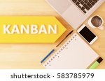 kanban   scheduling system for...   Shutterstock . vector #583785979