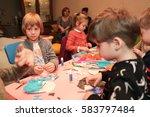 odessa  ukraine february 18 ... | Shutterstock . vector #583797484