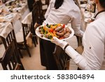 grilled vegetables with...   Shutterstock . vector #583804894