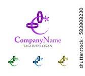 wedding organizer logo | Shutterstock .eps vector #583808230