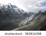view of pasterze glacier and... | Shutterstock . vector #583816288
