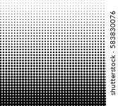 vector background in half tones ... | Shutterstock .eps vector #583830076