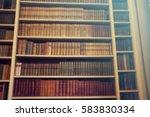 defocused background of old...   Shutterstock . vector #583830334