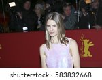 Small photo of BERLIN, GERMANY - FEBRUARY 18: Costume designer Aino Labrenz arrives for the closing ceremony of the 67th Berlinale Festival Berlin at Berlinale Palace on February 18, 2017 in Berlin, Germany.