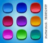 colored buttons set. gui...