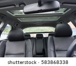 leather interior design  car... | Shutterstock . vector #583868338