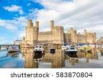 Caernarfon Castle In Wales In ...
