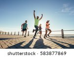 full length shot of young... | Shutterstock . vector #583877869