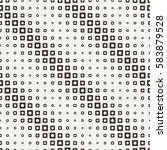 seamless halftone square... | Shutterstock .eps vector #583879528