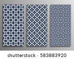 set universal different vector... | Shutterstock .eps vector #583883920