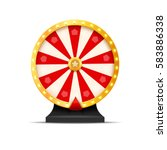wheel of fortune lottery luck... | Shutterstock .eps vector #583886338