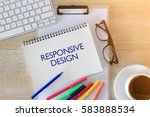 business concept   top view... | Shutterstock . vector #583888534