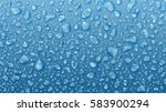 background of water drops on... | Shutterstock .eps vector #583900294