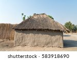 Typical African Thatched Roof...
