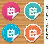 round stickers or website...   Shutterstock . vector #583936534