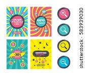 sale website banner templates.... | Shutterstock . vector #583939030