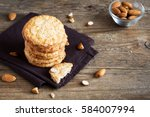 Homemade Almond Cookies On...