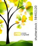 autumn background  eps10 | Shutterstock .eps vector #58402120