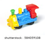 Toy Mini Train On White...