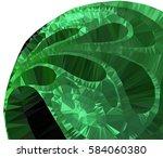 abstract polygonal geometric... | Shutterstock .eps vector #584060380